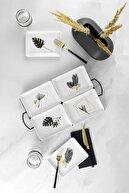 Kütahya Porselen Golden Leaf 18 Parça Kahvaltı Ve Ikram Takımı