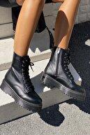 İnan Ayakkabı KADIN SİYAH BOT&BOOTİE&POSTAL KY92500