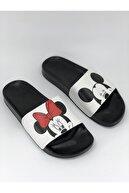 AKBAŞ Mickey Ve Mouse Baskılı Kadın-kız Terliği