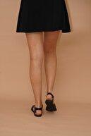VM SHOES Kadın Siyah Sandalet 009