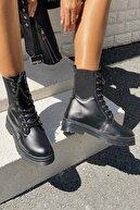İnan Ayakkabı Kadın Kenardan Lastikli Model Postal
