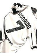 MG Erkek Çocuk Beyaz Juventus Ronaldo Futbol Forma Takımı