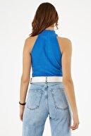 Pattaya Kadın Halter Yaka Kolsuz Triko Bluz Y20w185-1451