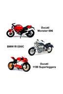 Maisto May/34007 1:18 Motorsiklet