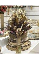 Aker Hediyelik Krem Yerli Pamuk Otu Krem Naturel Kuru Başak Çiçek Modelleri 1 Bağ 70gr
