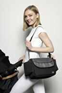 Marie Claire Gri Kadın Bebek Arabası Düzenleyici Çanta - Stroller Bag Mc212109078