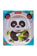 Fisher Price Fisher-price Panda Bölmeli Mama Tabağı