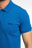 Slazenger Bambi Erkek T-shirt Saks Mavi
