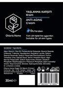 Chloris Home Yaşlanma Karşıtı Anti Aging Gece Cilt Bakım Paketi