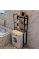 Yelken Cosar Group Çamaşır Makinesi Üstü Düzenleyici Raf Banyo Rafı Makina Üstü Çok Amaçlı Dolap