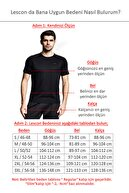 Lescon Beyaz Erkek T-shirt 20s-1298-20n
