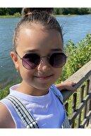 La Viva Elittrendshop Unisex Çocuk Güneş Gözlüğü 4 - 8 Yaş Kids Sunglases Uv400