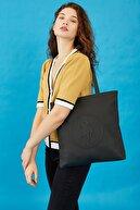 US Polo Assn Sıyah-sıyah Kadın Omuz Çantası Us3029