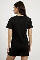 Arma Life Kadın Siyah Love Baby Nakışlı T-shirt