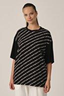 ALEXANDERGARDI Baskılı Oversize T-shirt (un-70417)