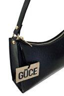 Güce Siyah Baget Baguette El Ve Omuz Çantası Gc009000