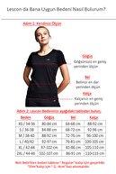 Lescon Kadın Karamel Kısa Kollu T-shirt