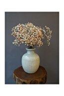 Kuru Çiçek Deposu Kuru Çiçek 1.kalite Şoklanmış Dökülmeyen Turuncu Cipso Demeti
