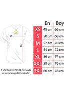 viptasarimtshirt Unisex Beyaz Sevimli Minik Kedi Baskılı T-shirt