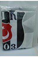 Zorluteks Beşiktaş Lisanslı Tek Kişilik Pike (efekt) (150x200 Cm) (yazlık-ince) (tek Parça)