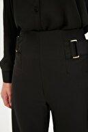 TRENDYOLMİLLA Siyah Bol Paça Pantolon TWOSS20PL0294