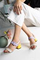 M&B Collection Kadın Topuklu Sandalet