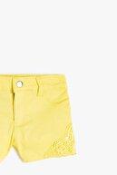Koton Sarı Kız Çocuk Şort & Bermuda