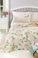 English Home Hydrangea Baskılı King Size Pike Takımı 220x240 Cm Pembe