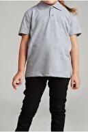 NACAR STORE Kız Çocuk Polo Yaka Kısa Kol Okul T-shirt