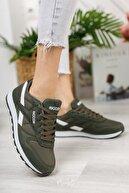 Riccon Haki Beyaz Unisex Sneaker 0012853