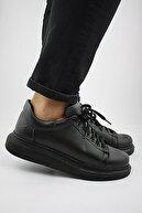 Dero Erkek Spor Günlük Ayakkabı Siyah St Dr022 2
