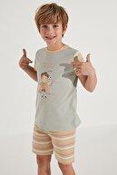 Penti Erkek Çocuk Pijama Takımı  2 li