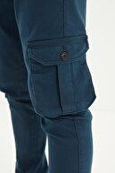TRENDYOL MAN Lacivert Erkek Kargo Jogger Pantolon TMNAW20PL0633