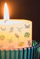 Artikel Poligonal Suluboya Hayvanlar Tırnak Dövmesi, Tırnak Tattoo, Nail Art, Tırnak Sticker