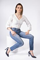 CZ London Hakiki Deri Kadın Sivri Burun Kadeh Topuk Stiletto Ayakkabı