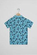 zepkids Erkek Çocuk Polo Yaka Ananas Baskılı Tshirt 3-7 Yaş