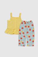 LC Waikiki Kız Bebek Sarı Fsg Bebek Takımları