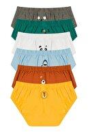 Penti Çok Renkli Erkek Çocuk Animal 6lı Slip Külot