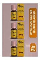 SİSA Cosmetics 3 Adet Karınca Yumurtası Yağı 20ml/ Egg Oil 20ml (mt-maqya)