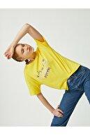 Koton Kadın Sarı T-Shirt