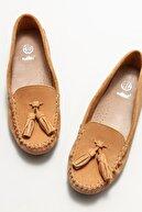 Elle Kadın Naturel Deri Loafer