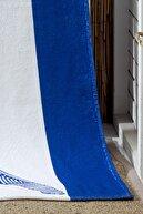 eumenia Köpek Balığı Baskılı Mavi Plaj Havlusu 70x155cm