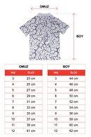 zepkids Erkek Çocuk Beyaz Polo Yaka T-shirt Matter Nakışlı 3-12 Yaş