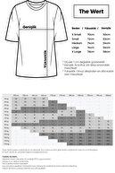 THEWERT Unisex Siyah Smile Baskılı Oversize T-shirt