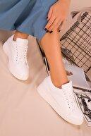 Soho Exclusive Beyaz Kadın Sneaker 15771
