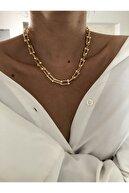 The Y Jewelry Kadın Sarı Tiffany Model Kolye
