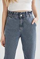 Defacto Kadın Paperbag Yıkamalı Jean Pantolon