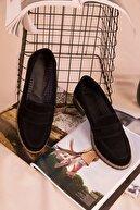 Soho Exclusive Siyah Süet Kadın Casual Ayakkabı 15471