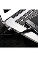 Baseus Işıklı Apple Lightning Şarj Kablosu Siyah