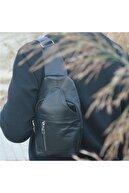 Bag Ard Unisex  Gerçek Hakiki Deri Crossbag Ön Çapraz Çanta 1008